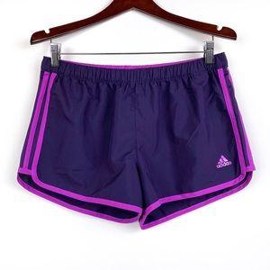 ADIDAS Dark Purple Running Shorts M